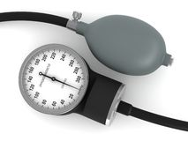 Blood pressure measuring device Stock Photo