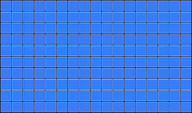 Tiles. 3d render of blue tiles texture with black gap Stock Photography