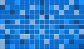 Tiles. 3d render of blue tiles texture with white gap Royalty Free Stock Image