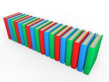 3d render of Books Royalty Free Stock Photo