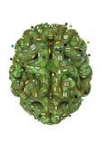 Circuit brain Royalty Free Stock Photos