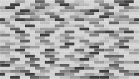 Bricks wall. 3d render of bricks texture with white gap Royalty Free Stock Photography