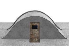 3d render of bunker Royalty Free Stock Image
