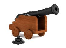 3d render of cannon Stock Images