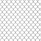 3d Render of a Chain Link Fence Stock Images