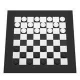 3d render of checkers Stock Photos