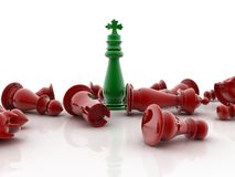 3d render of chess Royalty Free Stock Image