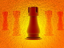 3d render of chess Stock Photography