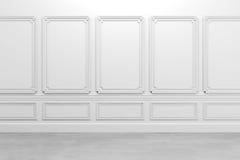 3d render of classic interior Stock Photo