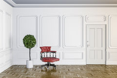 3d render of classic interior Royalty Free Stock Photos