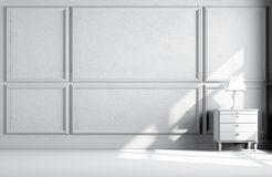 3d render of classic room Stock Image