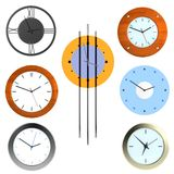 3d render of clocks Royalty Free Stock Photo