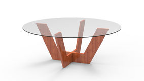 3d Coffee Table Royalty Free Stock Photography