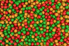 3d render of colorful balls set Royalty Free Stock Images