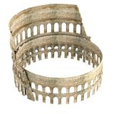 3d render of coloseum Stock Images