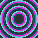 3D render of concentric circles incresing in size, filling the frame stock images