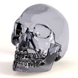 3d render of crystal skull Royalty Free Stock Images