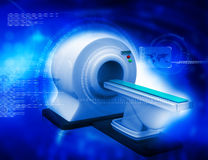 3d render of CT Scanner Royalty Free Stock Images