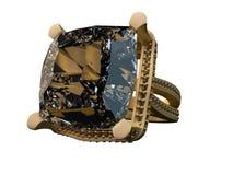 3D render Diamond ring Stock Images