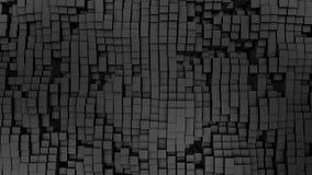 3D render Digital background of the many grey squares. 4k royalty free illustration