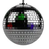 3d render of discoball Stock Photo