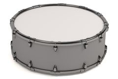 3d render of drum. Realistic 3d render of drum Royalty Free Stock Photos