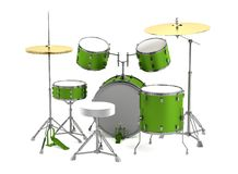 3d render of drumset Stock Photo