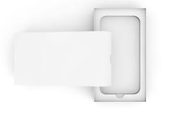 3d Render Empty Smartphone Box Royalty Free Stock Photo