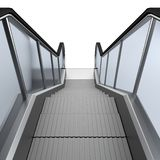 3d render of escalator Stock Images