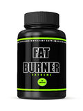 3d render of fat burner bottle over white Stock Photography