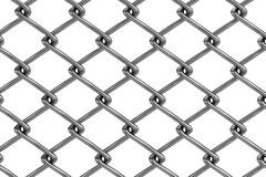 3d render of fence links Royalty Free Stock Image
