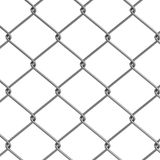3d render of fence links Stock Photo