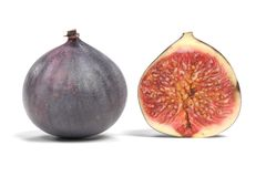 3D Render of Fig Fruit. Realistic 3D Render of Fig Fruit Stock Photo