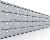 Filing Cabinet Stock Images