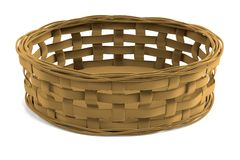 3d render of fruit basket Stock Photos