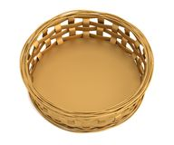 3d render of fruit basket Stock Images