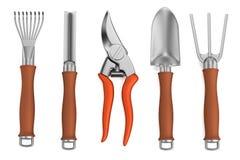3d render of garden tool Royalty Free Stock Photos
