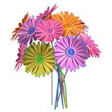 3d render of gerbera Stock Photography
