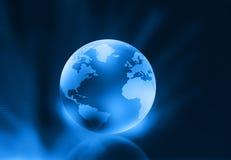 3d render of globe Stock Photos