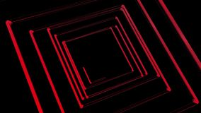 3d render glowing lines wit isolated background
