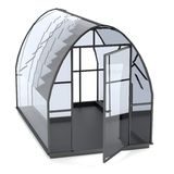 3d render of greenhouse Royalty Free Stock Images