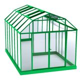 3d render of greenhouse Stock Photography