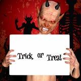 3d render of a halloween monster Stock Photo