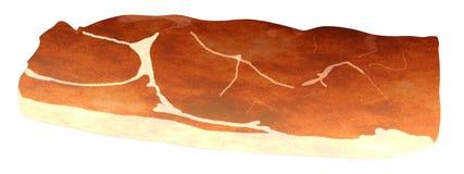 3d render of ham Stock Image