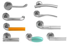 3d render of handles Royalty Free Stock Photos