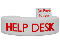 3d Render of a Help Desk Stock Photography