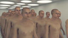 3d render. Human humanoid figure Stock Photo