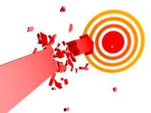 Failed Broken Arrow Stock Photography