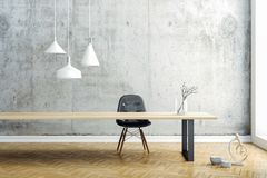 3d render image of beautiful clean interior design. 3d render image of beautiful and clean interior design stock illustration