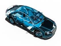 Car interior development process Stock Photos